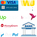 Our List of Payment Methods is Very Wide. We Accept payment via PayPal, bank transfer, etc